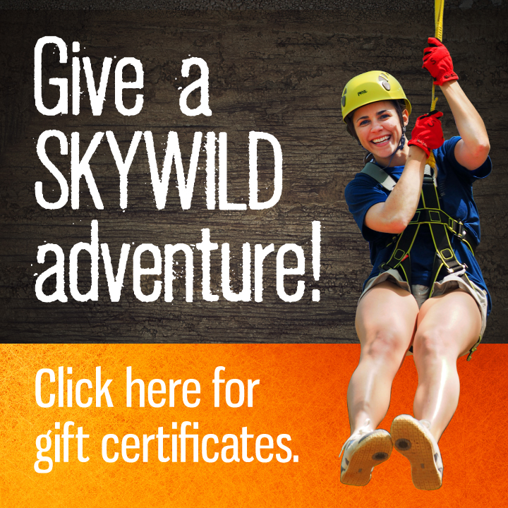 Give a SKYWILD Gift Certificate
